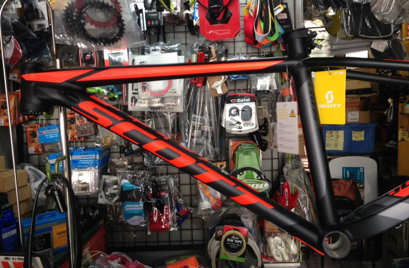 Enso's Bike Shop in Marikina carries brands like Veloci, Cannondale, Specialized, and LaBici
