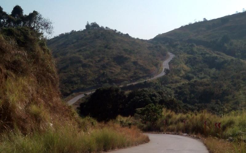 How hard is the road climb og Shotgun? It's The Wall times three