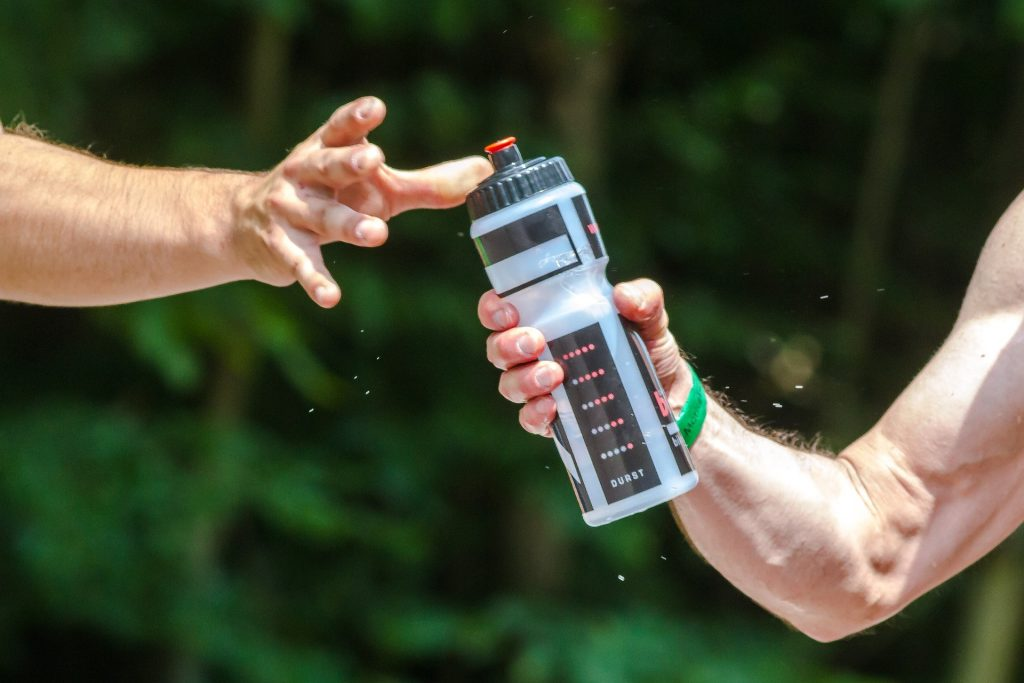 The important thing to look for in your sports drink is a right balance of salts (electrolytes) and sugars (carbs)