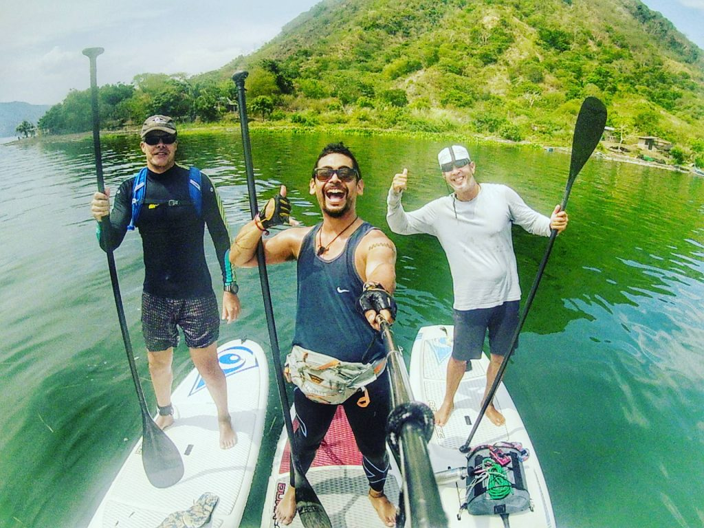 The Philippines is an archipelago, so any body of water is possible to navigate with a SUP