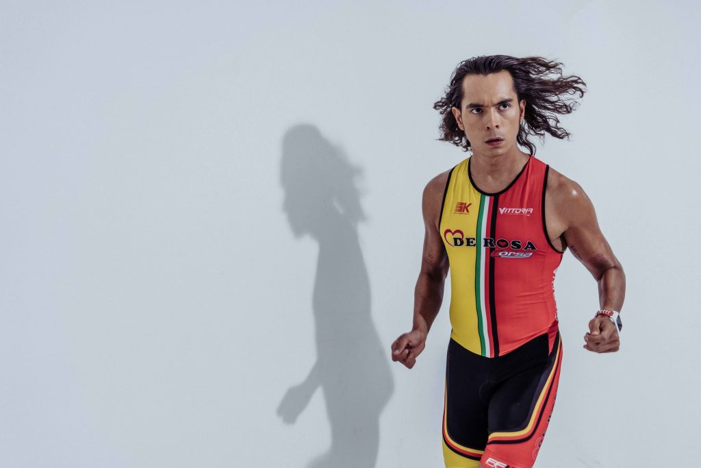 Jake Cuenca says that diving into triathlon is like jumping into a whole new world, especially for someone who admittedly would go out at night and socialize