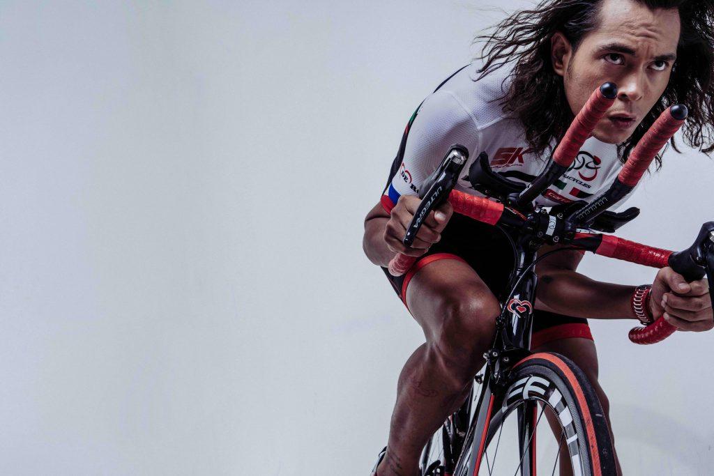 Cycling is Jake Cuenca's favorite discipline of triathlon