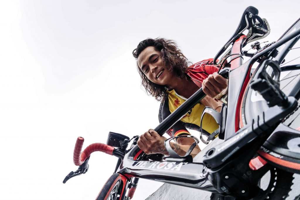 """""""I don't want to hate this sport. I want to enjoy it little by little,"""" says Jake Cuenca"""