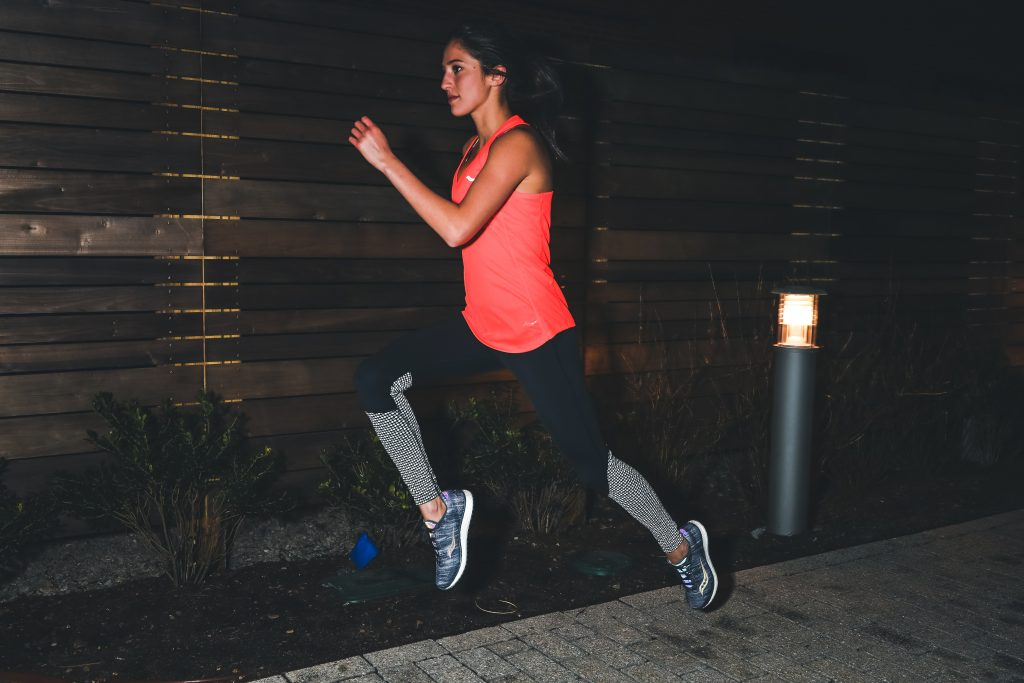 Going out at night to run? It's best to do it with someone