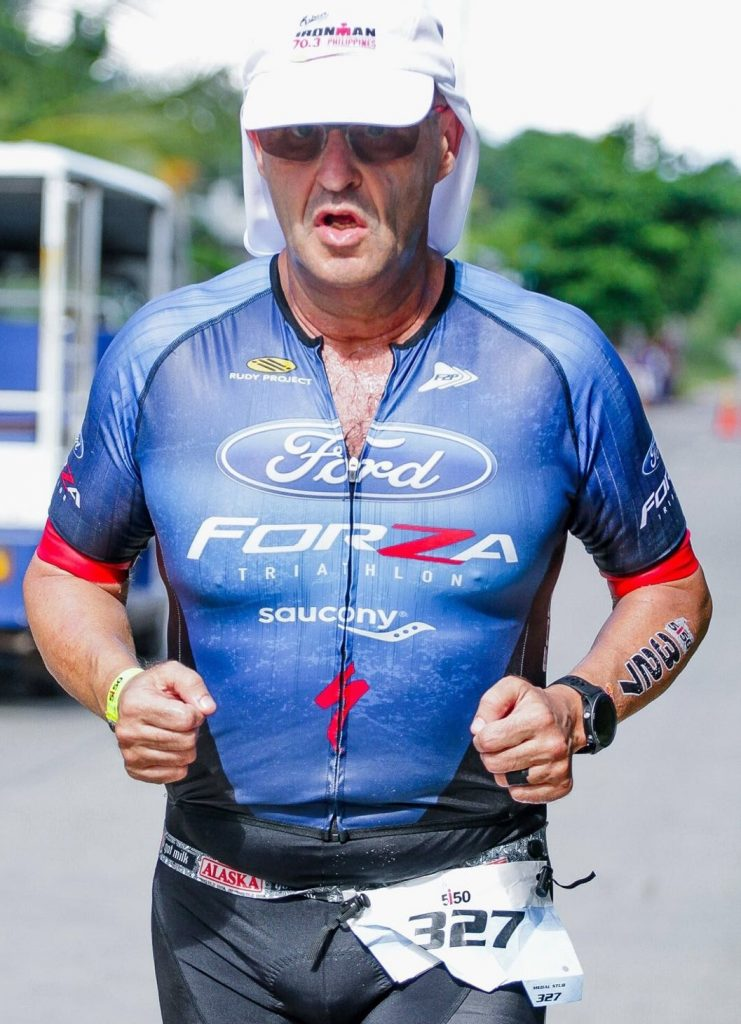The head of the Guidicelli household finished his first Ironman in 2014