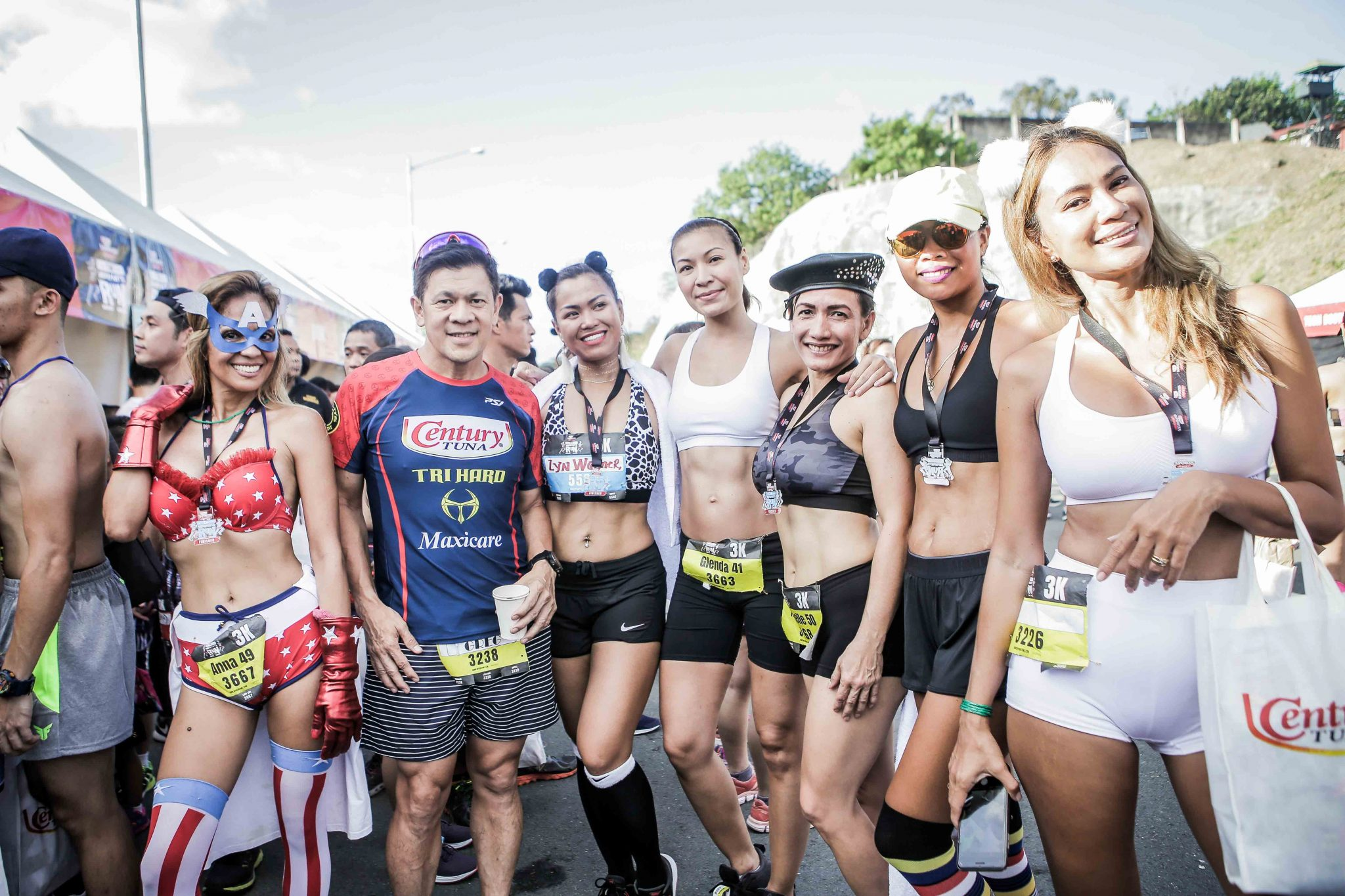 Gallery: Century Tuna Superbods The Underpants Run 2018