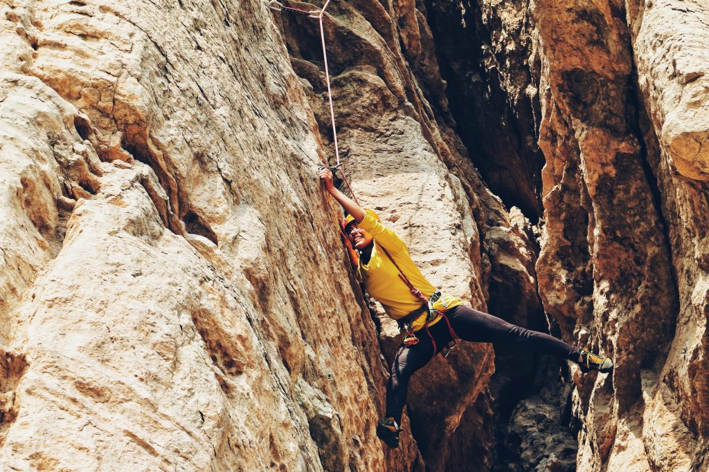 Climbing's risks owes itself to its high unpredictability