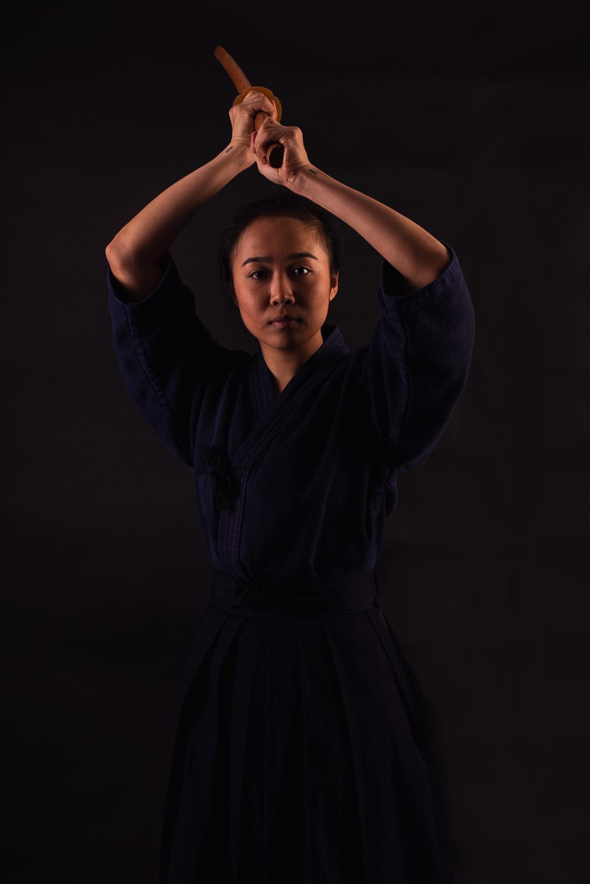 Kendo athlete Karen Toyoshima has been harnessing her kendoka skills for the past three years