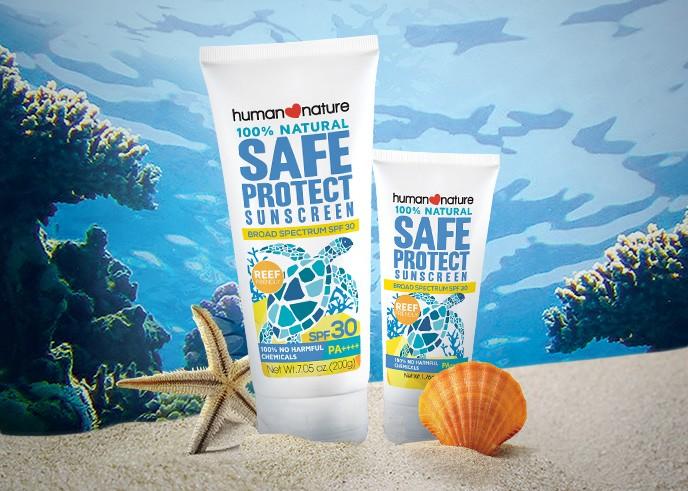 Human Nature SafeProtect SPF 30 Sunscreen