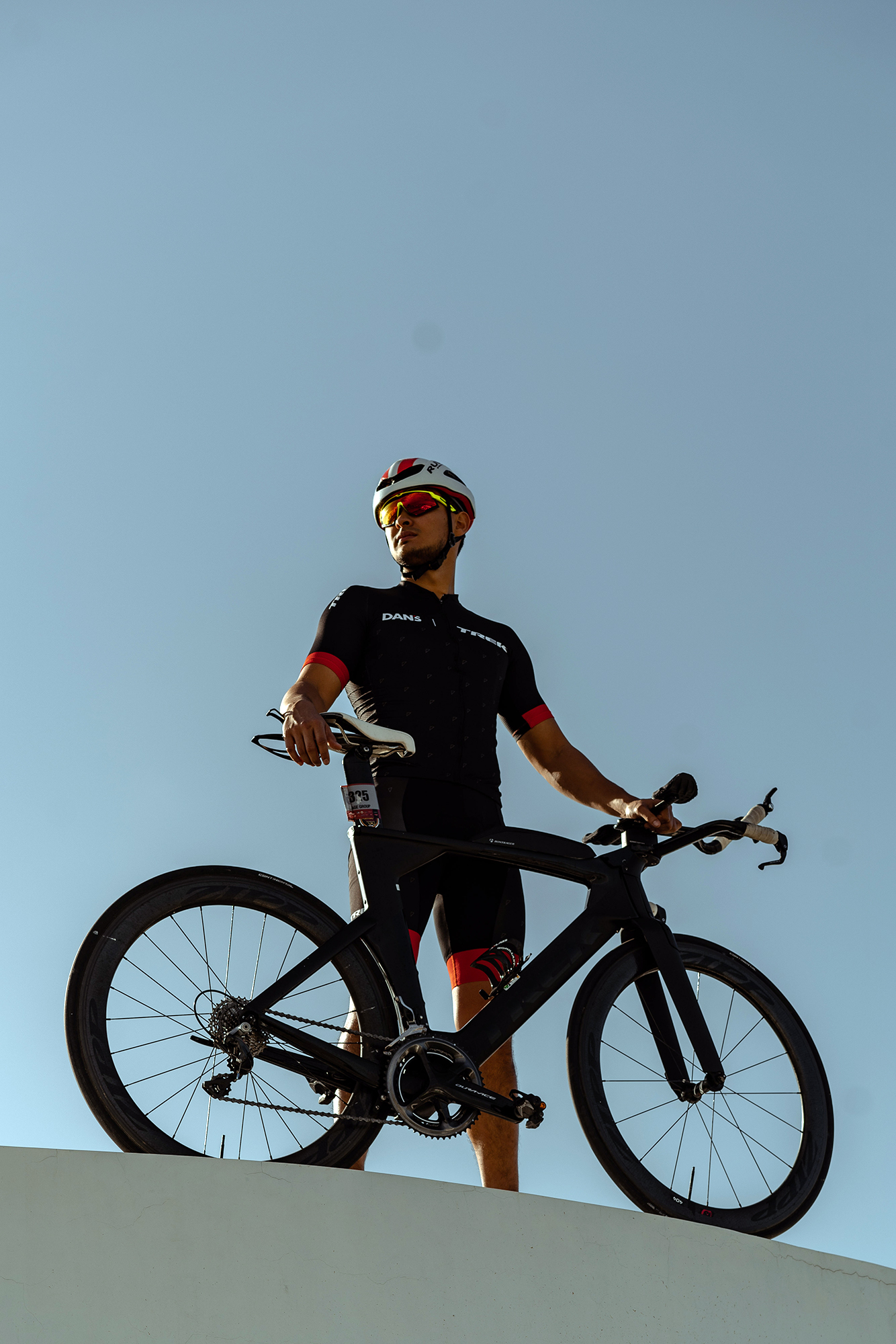 Matteo Guidicelli isn't one to shy away from a challenge even if it means diving into triathlon