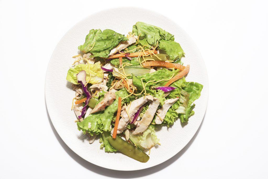 Pickle Healthy Delivery's spicy Oriental chicken salad