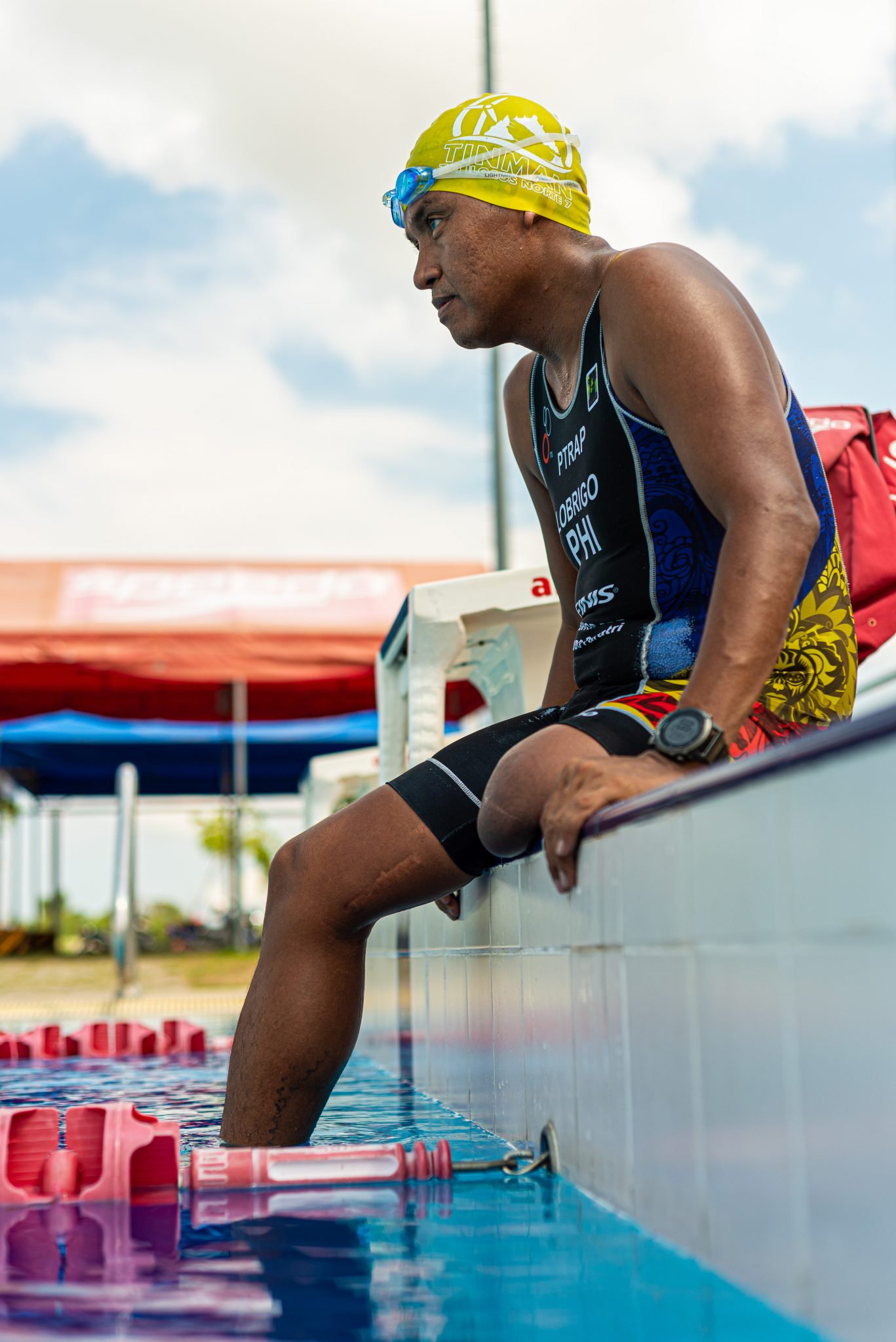 Manny Lobrigo's first foray into endurance sports was as a swimmer in the Mayon Tri Team
