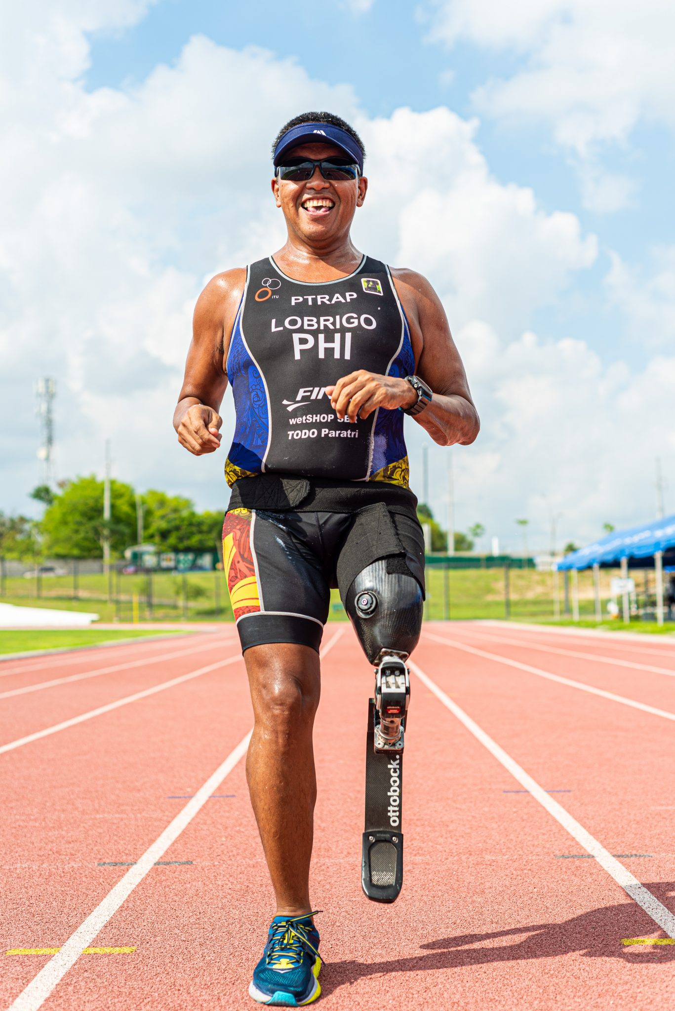 The 44-year-oldparatriathlete is also affiliated with Tri Marikina