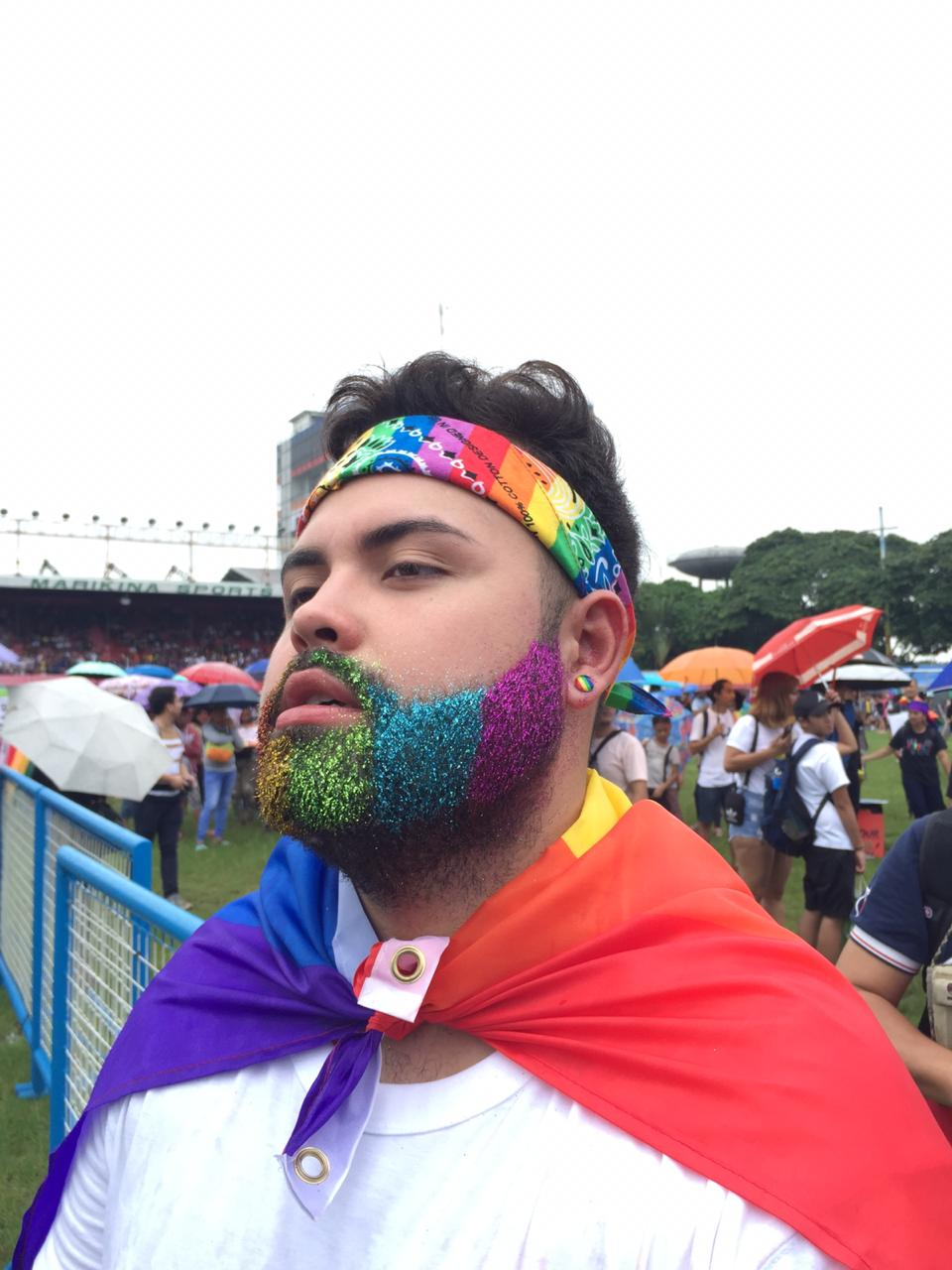 Seeing yourself represented at a Pride March is not as lofty as it sounds
