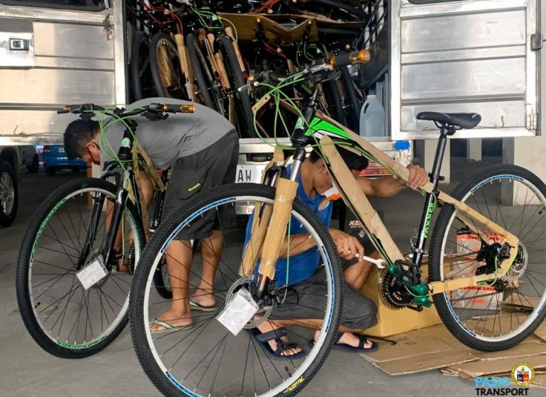 Pasig City declares bikes as 'essential' means of transportation