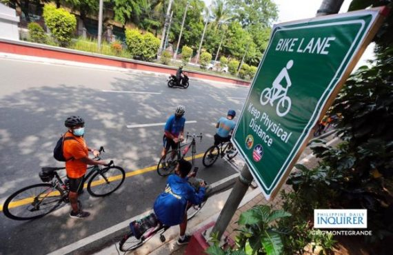 It's been a month since MMDA promised more bike lanes…