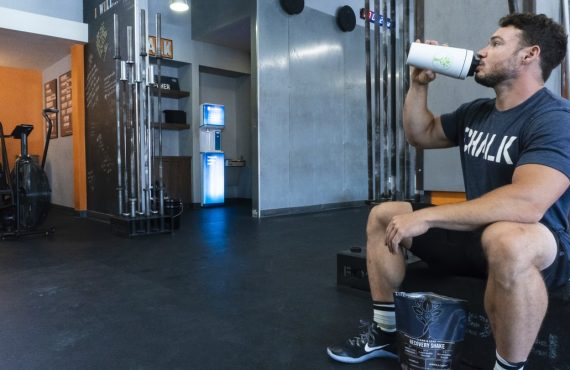 What's the best time to take a protein shake?