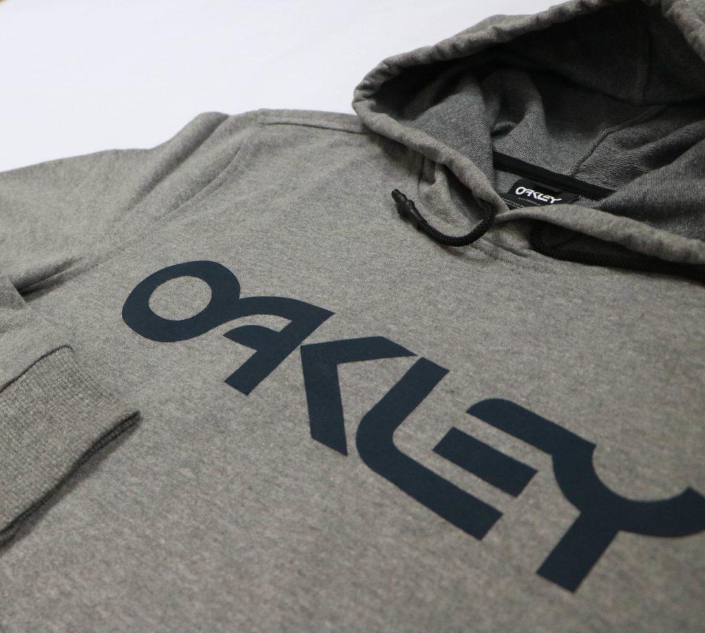 Oakley B1B Po hoodie in athletic header gray, P2,995