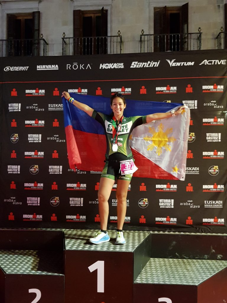 IM Vitoria in July 2019: I was just happy I finished the race