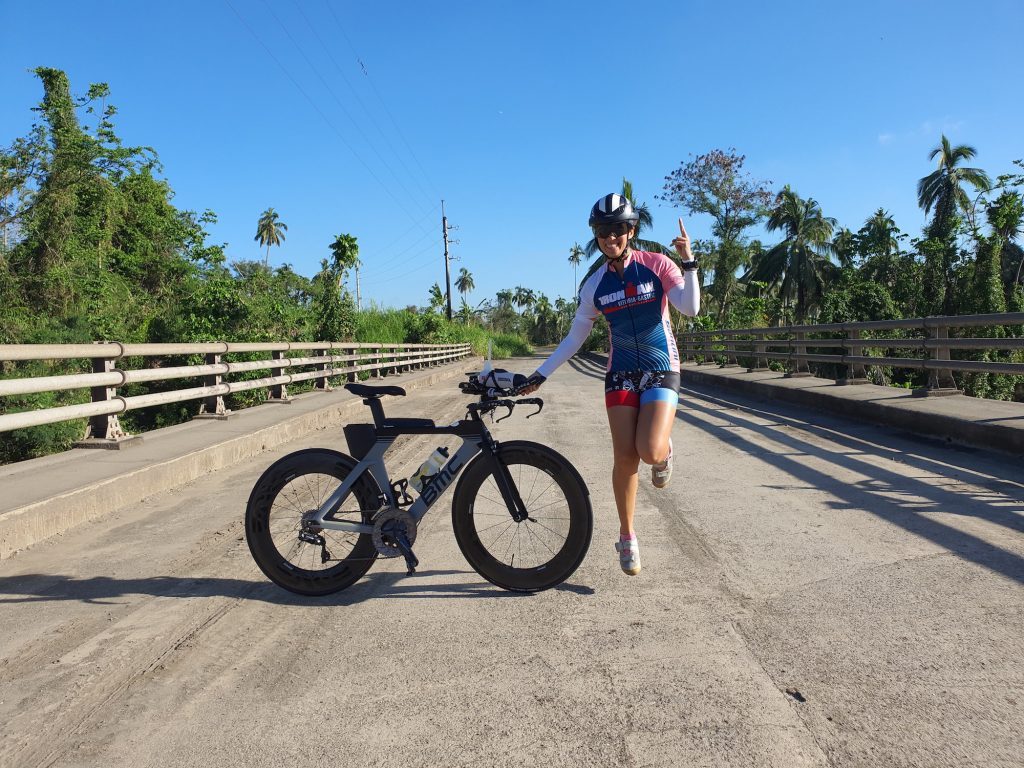 I rode 124 km at NUVALI to prepare for my Port Macquarie race supposedly in May 2020