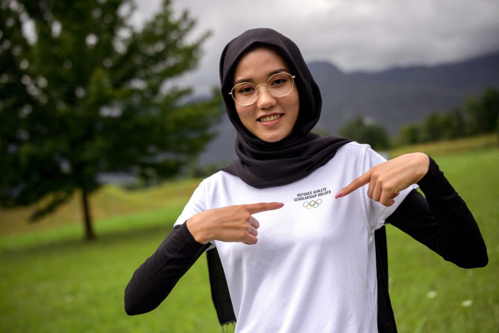 Masomah Ali Zada will compete at the 2020 Games for the Olympic Refugee Team, and feels a duty to represent the 82 million people around the world forced to flee their homes either inside their countries or as refugees