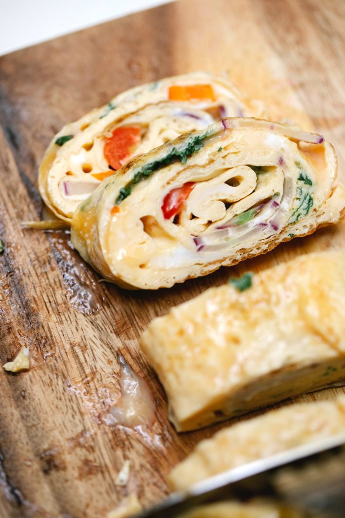 A better breakfast alternative is vegetable omelette, which has more nutrients than your average pancake