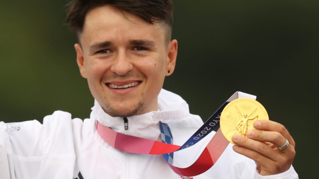 Pidcock arrived at the Games having fractured his collarbone in a crash while training last month but won gold in dominating fashion