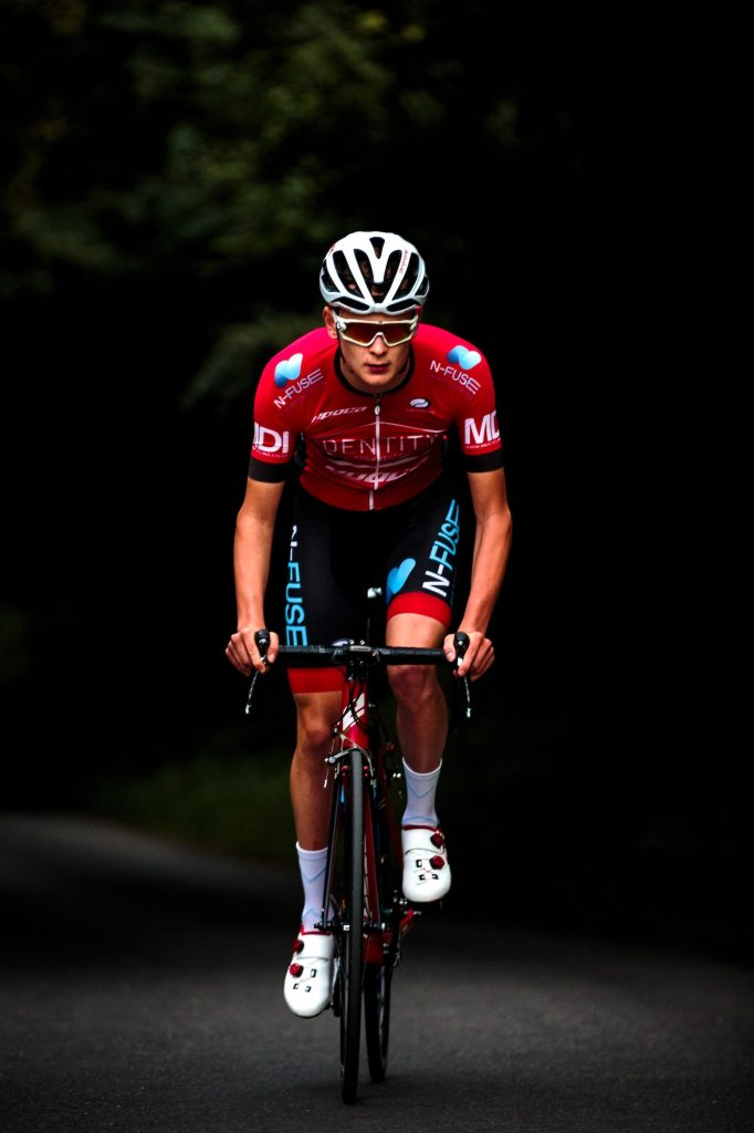 Cyclists should regularly ride hills to build leg strength