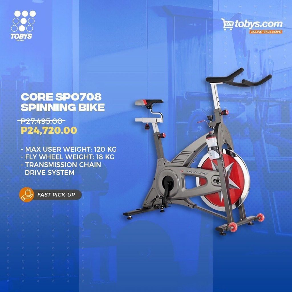 Toby's Sports' Core SPO708  stationary bike