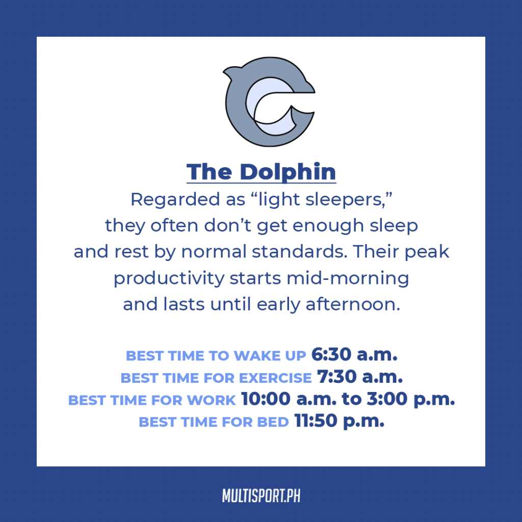 Is your sleep chronotype a dolphin?
