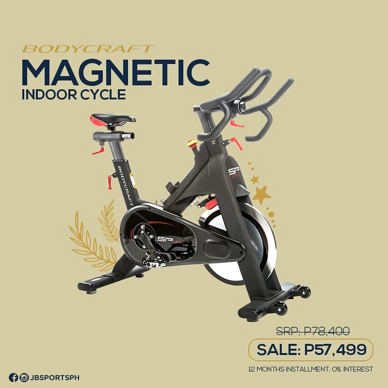 This exercise bike is one of the most expensive choices but JB Sports also has an array of affordable stationary bikes