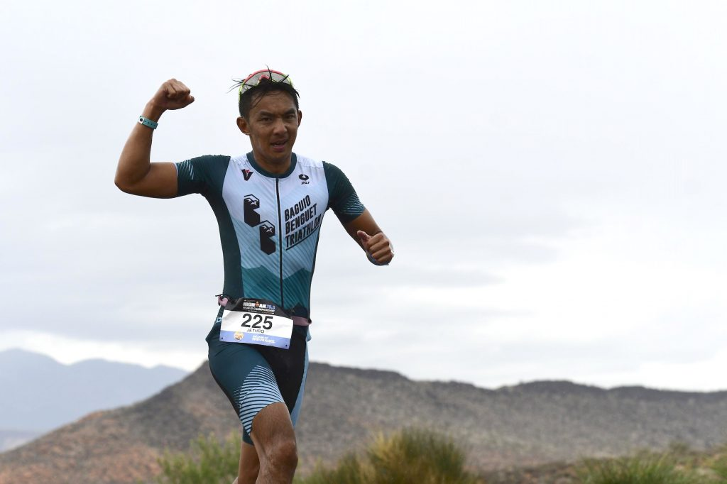 Jet Ramos first started with running but his desire to progress into triathlon proved to be a turning point