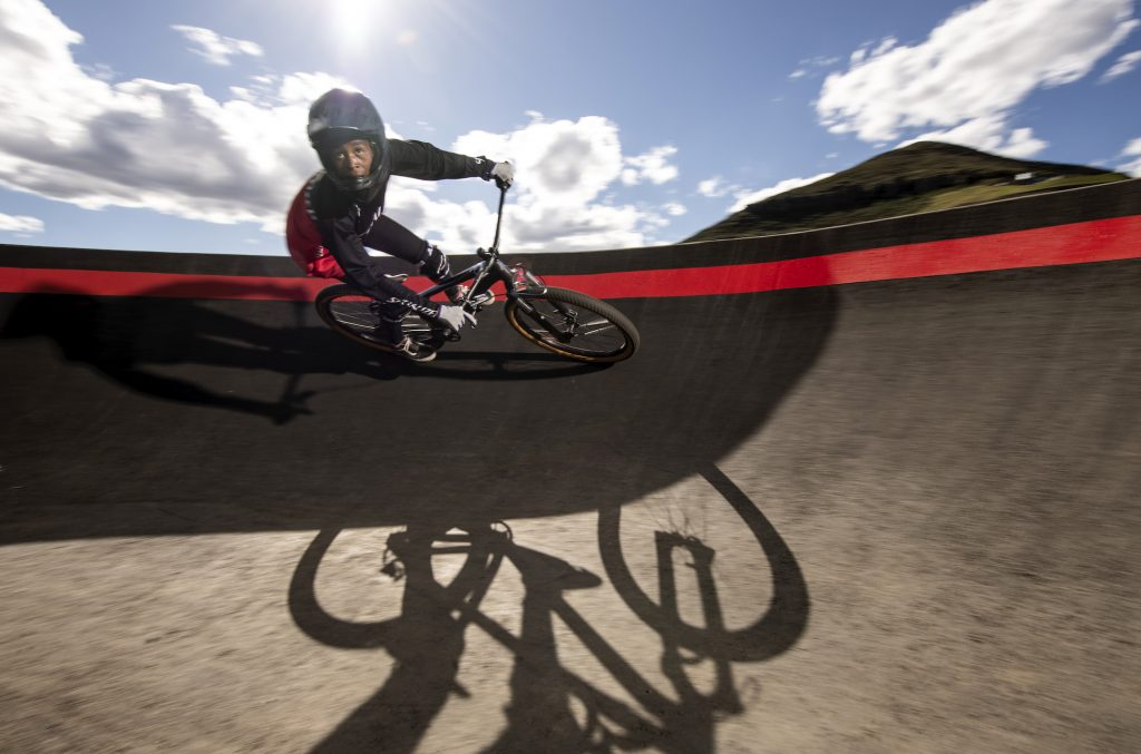 Khothalang Leuta developed a love for racing, becoming the first girl to race in the village and to qualify for the prestigious Red Bull UCI Pump Track World Championships in Portugal this October