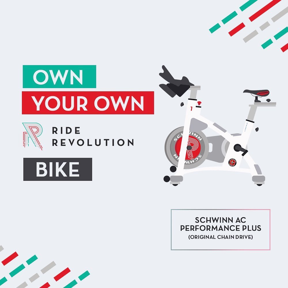 Ride Revolution is selling these chwinn AC Performance Plus stationary bikes