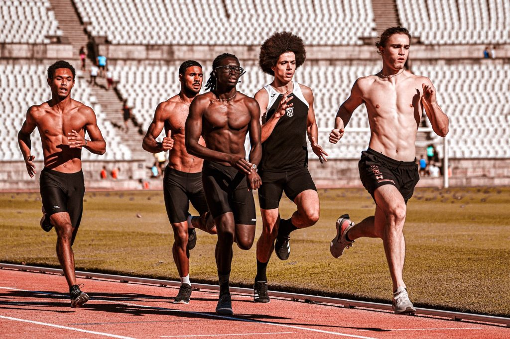 The track oval is the most ideal venue for speed work