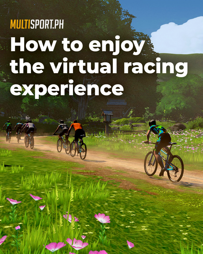 While it's a totally different indoor training experience, virtual races are just as competitive and exhilarating as real-world clashes